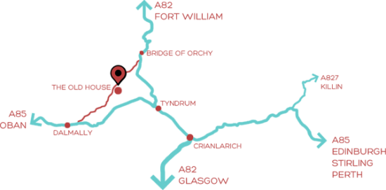 Glen Orchy Map